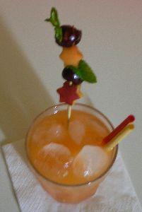 CRODINO e SUCCO PERA Cocktail Aperitivo Analcolico