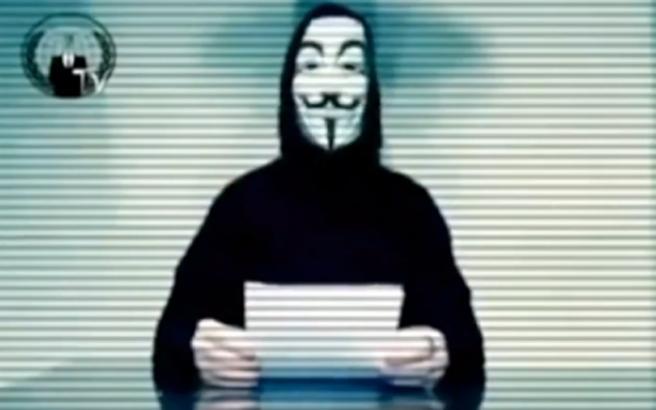 Αποτέλεσμα εικόνων για Οι Anonymous χάκαραν την ΕΡΤ