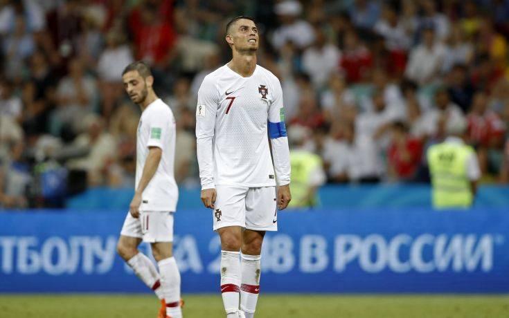 APTOPIX Russia Soccer WCup Uruguay Portugal