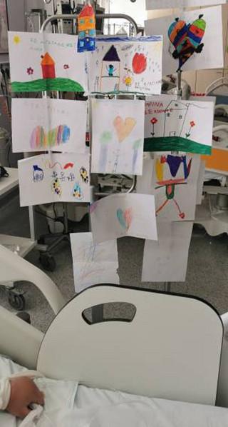 Οι ζωγραφιές στο δωμάτιο του Φώτη