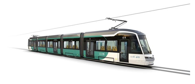 """Laajasaloon valmistetaan """"maailman edistyksellisin raitiovaunu"""""""