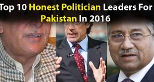 Top 10 Honest Politician