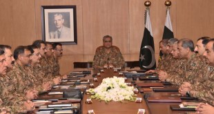 Corps Commanders' conference
