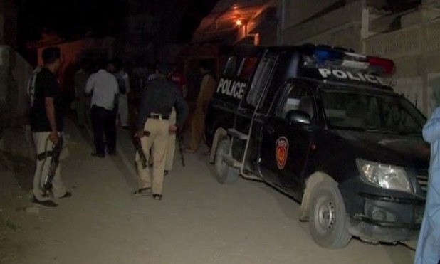 Two killed in Karachi firing