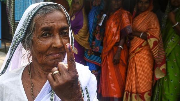 India set to count votes
