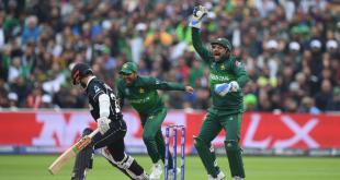Pakistan defated New Zealand by six wickets.