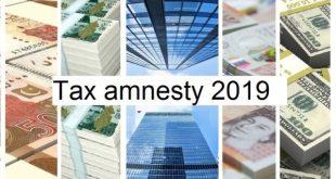 Tax amnesty 2019