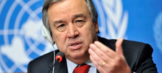 United Nations chief Antonio Guterres
