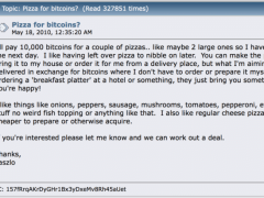 Ten Years Ago, One Man Paid 10K Bitcoin for 2 Pizzas; Now It's Worth This Much