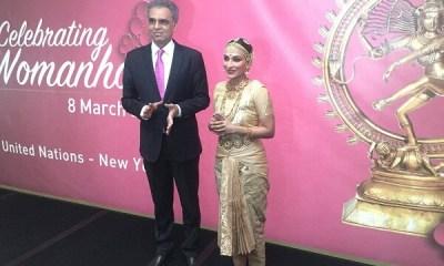 Aishwaryaa Dhanush Performed Bharatanatyam at UN