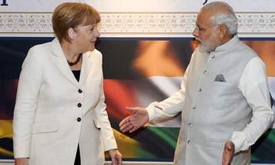 Modi-Merkel Meet at Germany