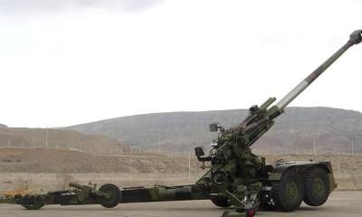 Two M777 Ultra-Light Howitzers