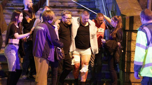 Terrorist attack in Manchester nineteen killed in the presumed terrorist attack