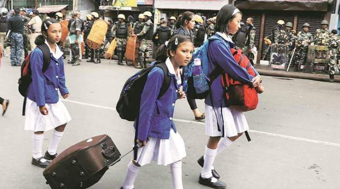Protests continue in Darjeeling over demands for a separate Gorkhaland state, Darjeeling Schools To Evacuate Students