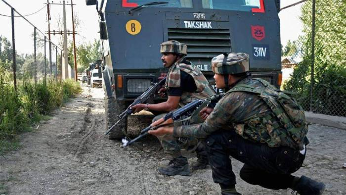 Six policemen were killed, including a station house officer, of Achabal area in the another militant attack