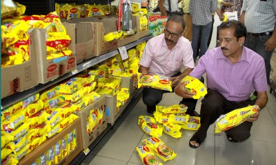 Maggi Fails Lab Test Again