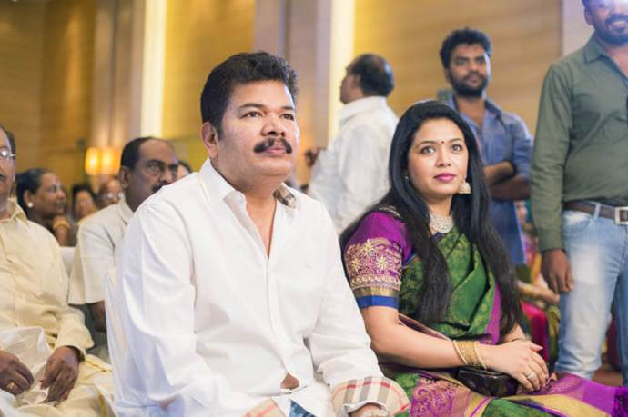 Shankar (Director) with his wife
