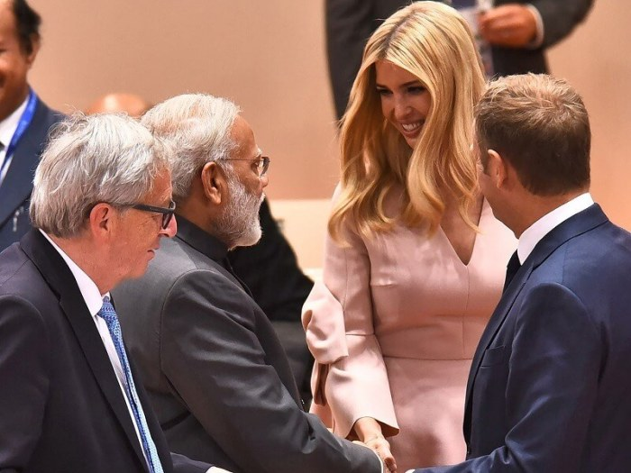 Ivanka Trump on GES 2017 | A Testament to 'strong' India-US friendship
