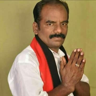 Marudu Ganesh, a journalist by profession and an advocate, has been fielded by DMK Party
