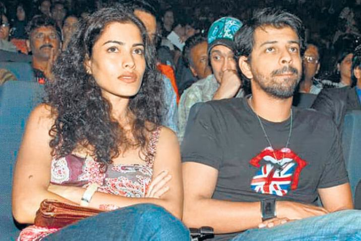 Bejoy Nambiar with Sheetal Menon