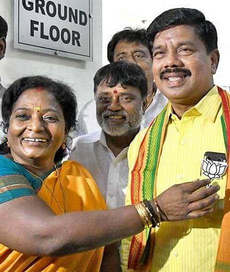 BJP - RK Nagar by-election Candidate Karu Nagarajan