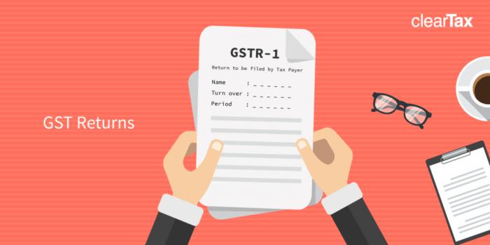 GST Return Filing: Government Extends Deadline to File GSTR-1 till January 10