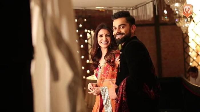 Virat Kohli and Anushka Sharma Marriage photos