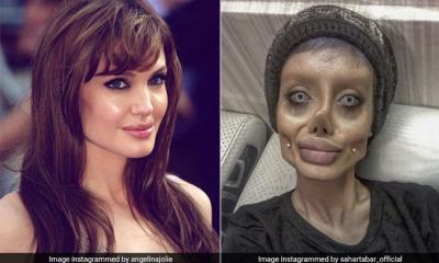 look like Angelina Jolie