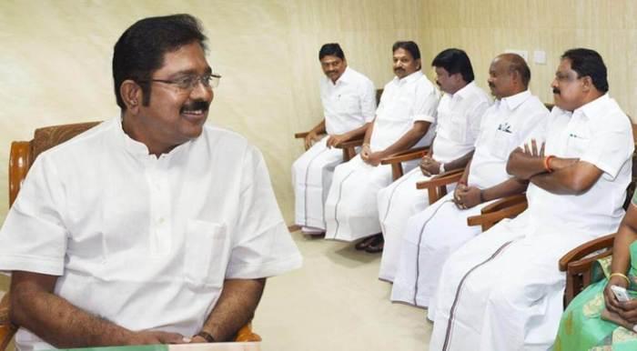 T T V Dhinakaran sworn in as MLA in TN Assembly