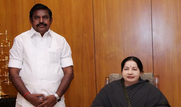 EPS and OPS factions of the AIADMK