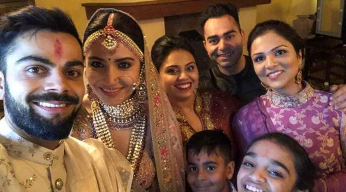 Virat Kohli and Anushka Sharma wedding photos