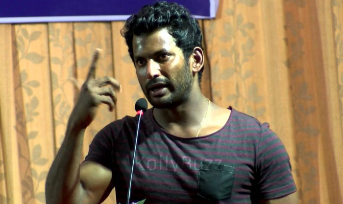 Vishal in RK Nagar by-election