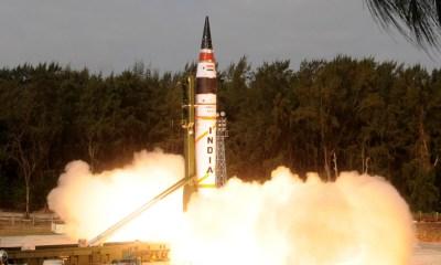 Agni-5 ballistic missile