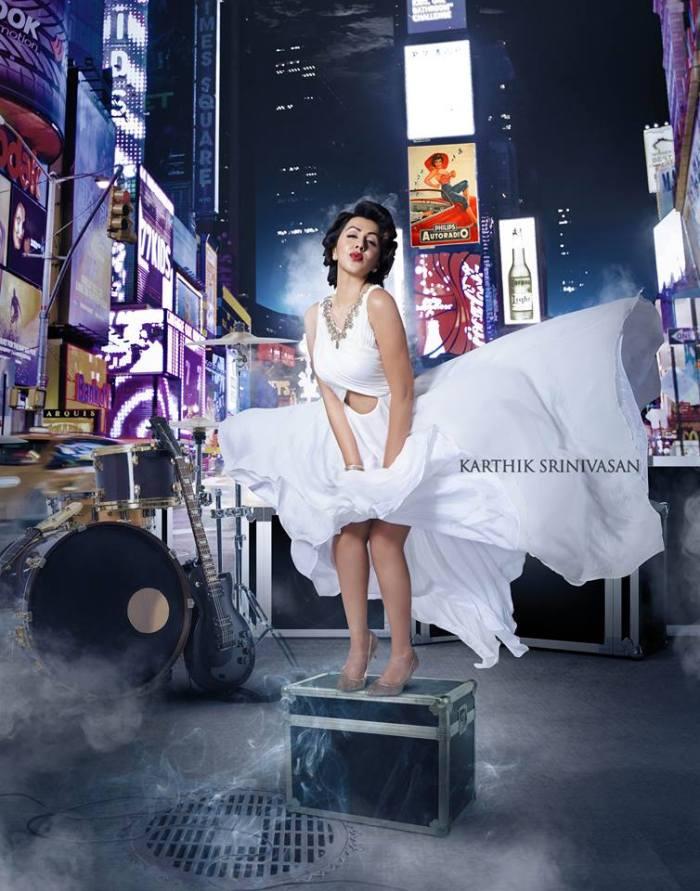Nikki Galrani as Marilyn Monroe