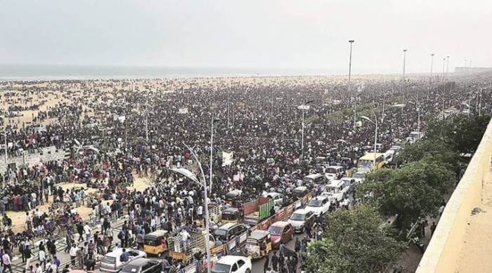 Jallikattu Protest Day 2017