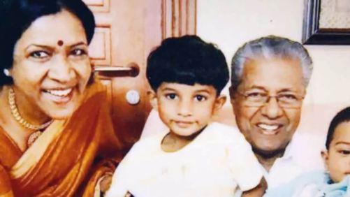 Pinarayi Vijayan Family