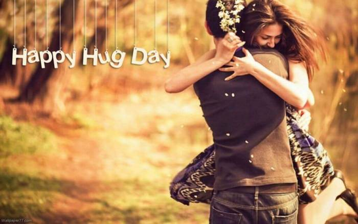 Happy Hug Day 2019