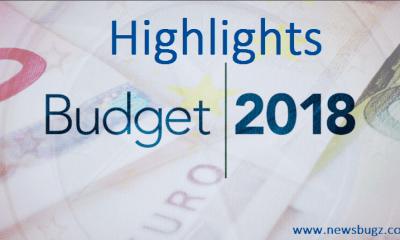 Highlights of Union Budget 2018