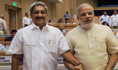 Modi Meets Manohar Parrikar