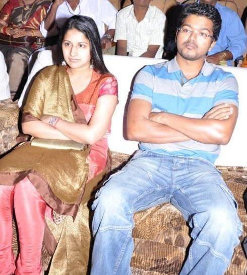 Vijay Wife Sangeeta Sornalingam Images