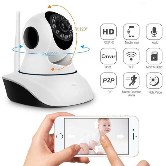 Royallite Wireless HD IP Wifi Camera CCTV Camera