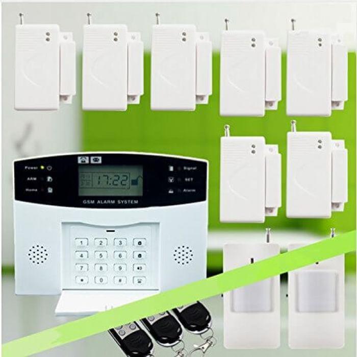 Home Alarm System GSM Wireless Home Burglar Alarm