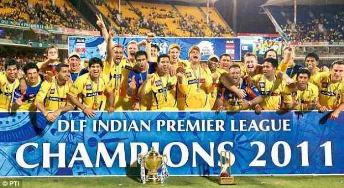 IPL Winners 2011