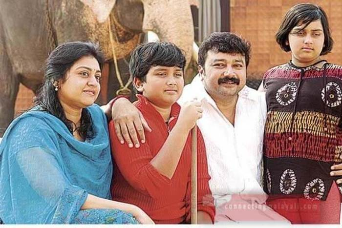 Kalidas Jayaram Childhood Photos