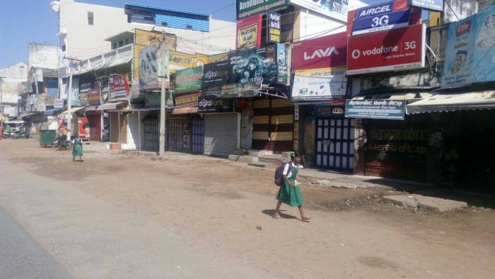 Tamil Nadu Bandh Over Cauvery Issue