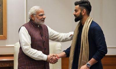 PM Narendra Modi Accepts Virat Kohli's Fitness Challenge