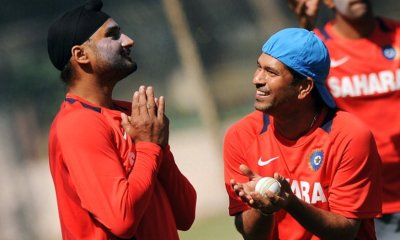 Sachin wishes Harbhajan in Tamil   A delight to see