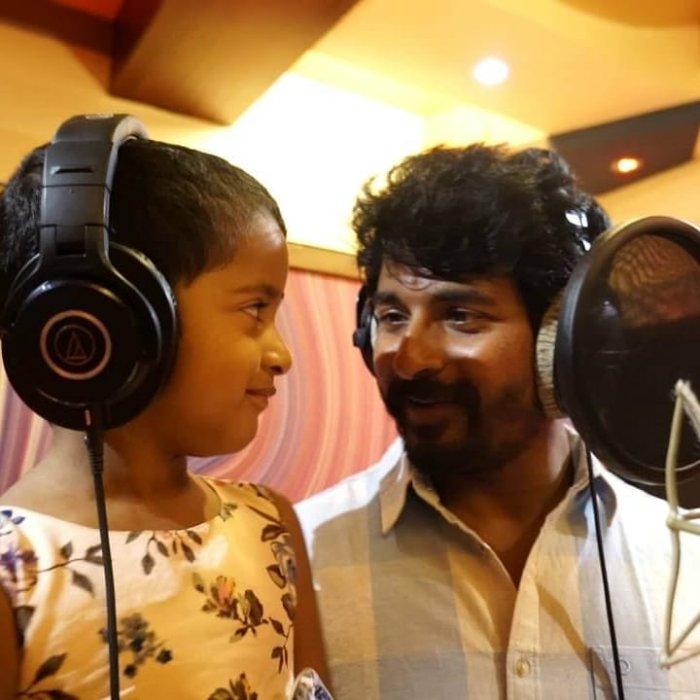 Sivakarthikeyan's Daughter Aaradhana Debuts as Singer in Kanaa