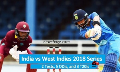 India vs West Indies 2018 Series