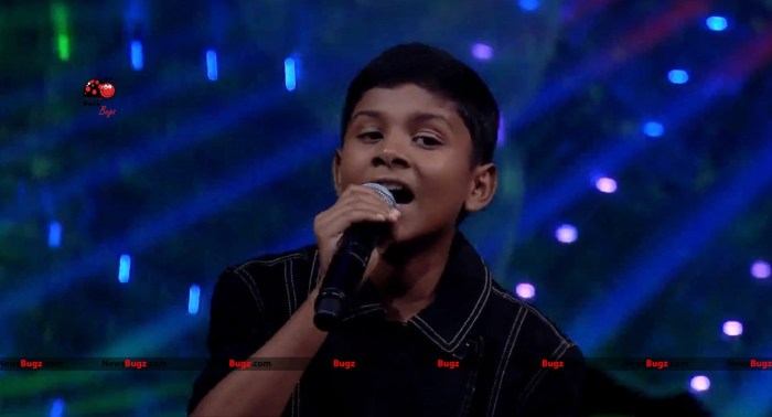 Nikhil Super Singer Junior 6